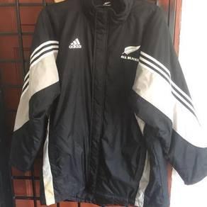Adidas all black winter jacket XXXL