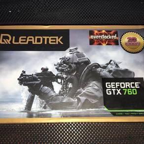 Leadtek GTX 760 OC GPU 2GB GDDR5 256bits