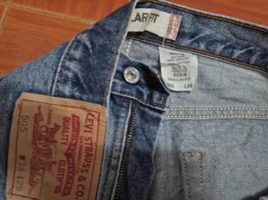 Levis 505 jeans W 35 L 40 ref Spt 26