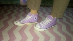 Unisex Purple Cute Shoes