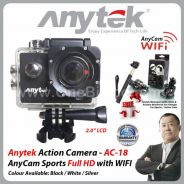 AnyCam Sports Full HD Action Camera with Wifi