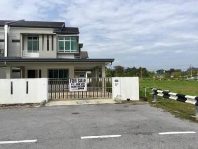 Beautiful semi-detached house, Taman Uni-central, Kota Samarahan