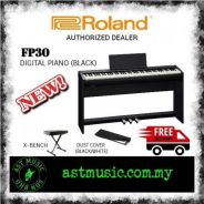 Roland FP-30 fp30 Digital Piano Home Package