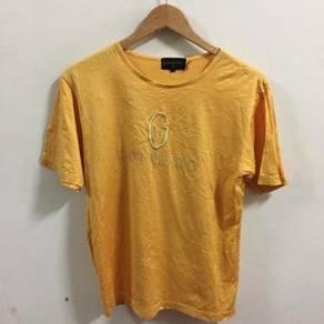Vtg Gianni Valentino Logo Shirt Size L