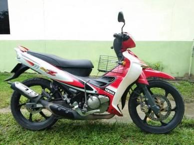 Yamaha 125zr untuk dilepaskan