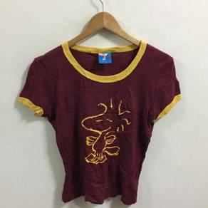 Peanuts Woodstock Shirt Size L Kids Youth