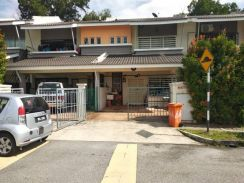Facing highway & beutiful 2 storey house, Taman Desa Jaya, Senawang