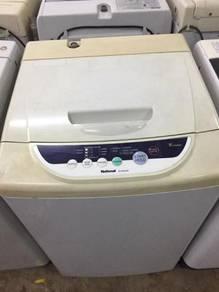 Washing machine national 6kg at mesin basuh top