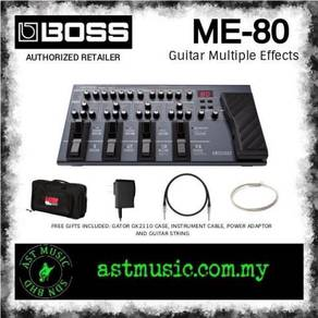Boss ME-80 me80 Guitar Multiple Effects Pedal Set