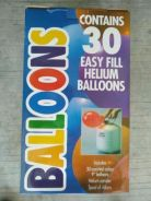 Party Balloon Helium Pack