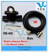 Car Antena Mount + 5 Meter Cable