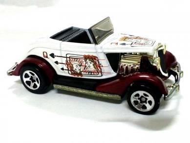 2002 Hot Wheels 33 FORD ROADSTER metalbase/pearl w