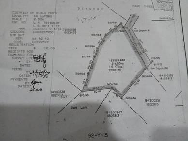 Tanah untuk dijual di Kuala Penyu 6.47 ekar