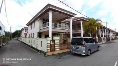 Endlot Double Storey Terrace Taman Krubong Utama Near Batu Berendam