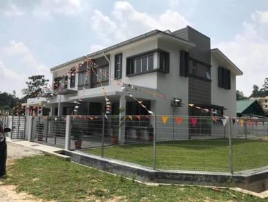 25 x 80 2 Storey Superlink Terrace Bangi