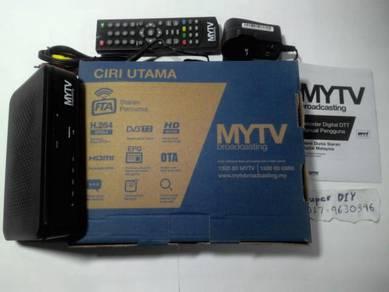 Mytv broadcasting dekoder siaran percuma baru new