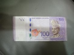 Special hundred ringgit note