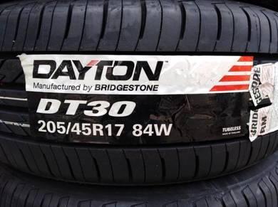 205/45/17 Dayton DT30 Tyre Bridgestone Tayar