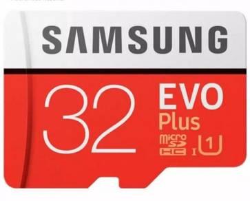 32GB Micro SD Memory Card Samsung Evo+