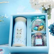 Thermos Blue Gift Set