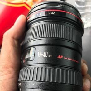Lens canon 17-40 f4