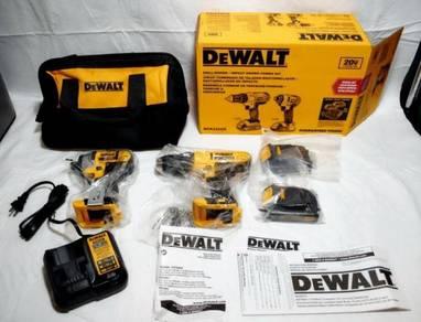 Dewalt dck240c2 20v set drill