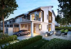 [2020 Completed Project] Freehold 2 Storey Superlink 22x85, Bangi
