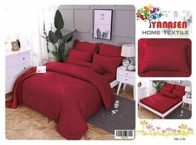 Set sarung tilam termasuk comforter