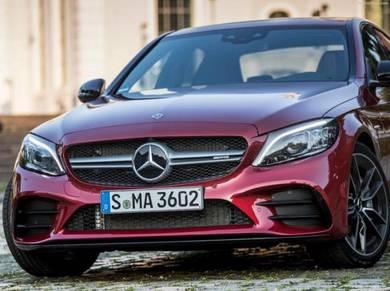 Mercedes benz W205 AMG Facelift AMG bumper C43