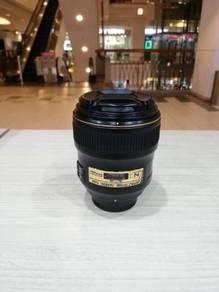 Nikon af-s 35mm f1.4g nano lens (93% new)