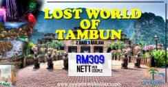 Pakej promo lost world of tambun per couple
