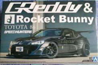 Aoshima toyota 86 GREDDY&Rocket; Bunny