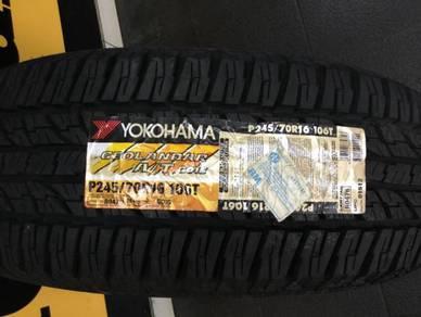 Tyre Yokohama Geolandar AT G015 245 70 16
