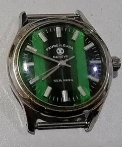 Jam Favre Leuba Geneve Sea King vintage Watch