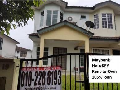 Saujana Puchong 2sty terrace house Renovated