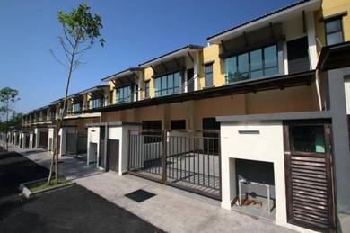 Newly completed double storey house bukit hatamas, cheras