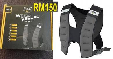 (READY STOCK) EVERLAST WEIGHT VEST 4.5kg ( Baju P