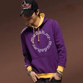 Madman Hoodies Sweater Pullover Jacket - Purple