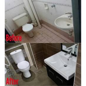 Toilet renovation / ubahsuai tandas