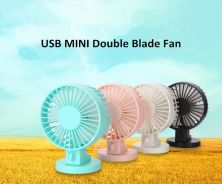 Portable Mini Fan Double Blade Kipas Mini USB G