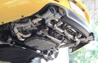 Porsche Carrera 911 997 Valvetronic Exhuast System