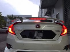 Honda civic fc si spoiler abs with paint bodykit