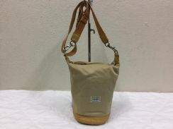 PORTER Crossbody bag canvas Leather