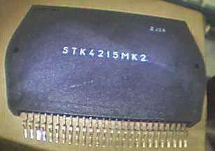 STK4215 Power Amplifier IC