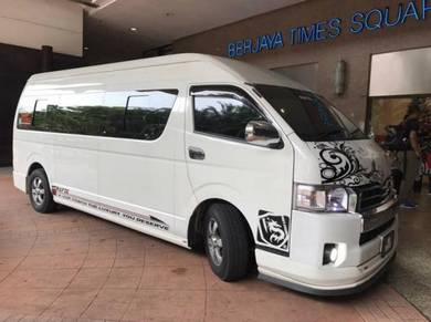 Van or Mpv to klia / Klia2 airport