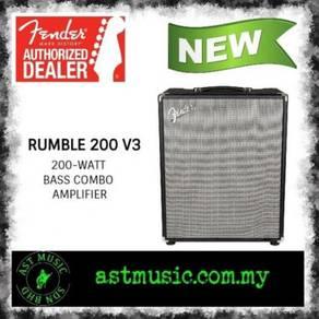 Fender Rumble 200 V3 200 watts Bass Amplifier