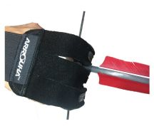 Arrouha Suede 3 Finger Archery Hand Glove