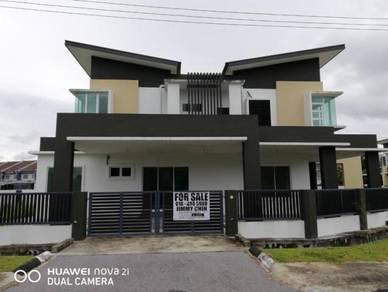 BRAND NEW Double Storey Semi Detached House at Jalan Kong Ping