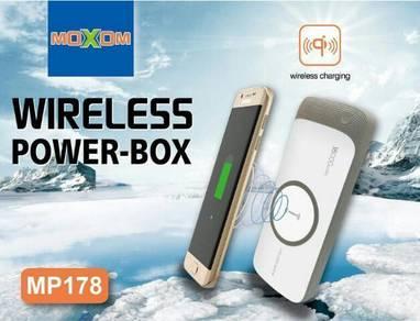 WIRELESS POWERBANK 18000 mAh 2-USB Ports by MOXOM