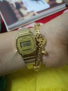 Jam casio gold hot untuk dijual